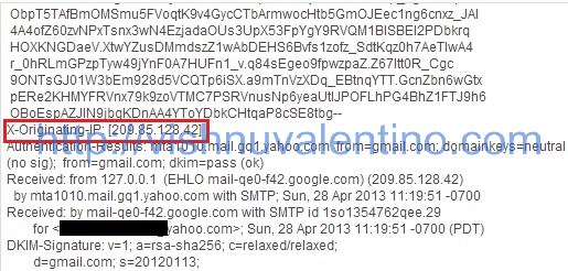 how to give email address to hackers